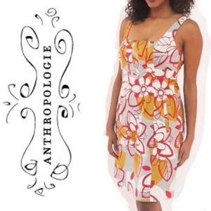 Anthropologie MAEVE Bold Floral Dress size 4